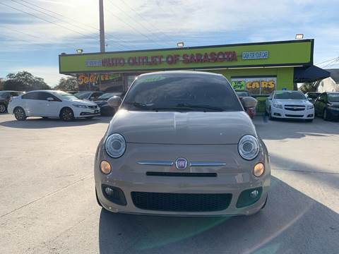 2012 FIAT 500 for sale at Auto Outlet of Sarasota in Sarasota FL