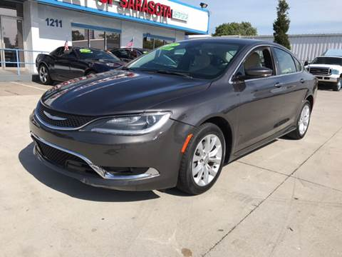 2015 Chrysler 200 for sale at Auto Outlet of Sarasota in Sarasota FL