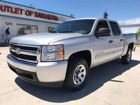 2010 Chevrolet Silverado 1500 for sale at Auto Outlet of Sarasota in Sarasota FL