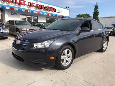 2014 Chevrolet Cruze for sale at Auto Outlet of Sarasota in Sarasota FL