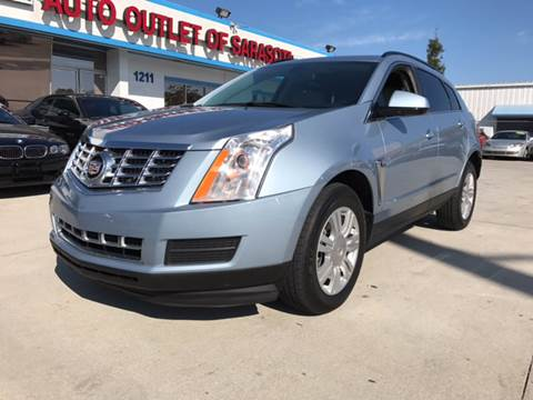 2013 Cadillac SRX for sale at Auto Outlet of Sarasota in Sarasota FL