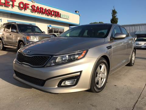 2014 Kia Optima for sale at Auto Outlet of Sarasota in Sarasota FL