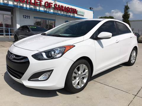 2013 Hyundai Elantra GT for sale at Auto Outlet of Sarasota in Sarasota FL