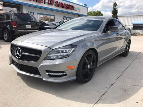 2013 Mercedes-Benz CLS for sale at Auto Outlet of Sarasota in Sarasota FL