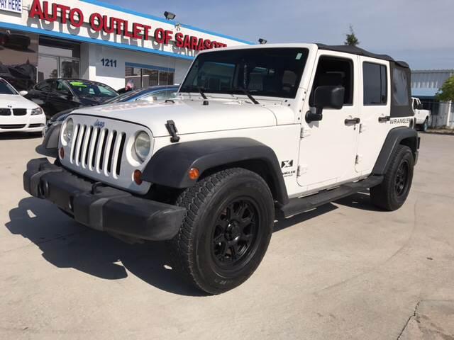 2007 Jeep Wrangler Unlimited For Sale At Auto Outlet Of Sarasota In  Sarasota FL