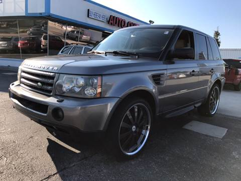 2007 Land Rover Range Rover Sport for sale at Auto Outlet of Sarasota in Sarasota FL
