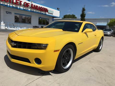 2013 Chevrolet Camaro for sale at Auto Outlet of Sarasota in Sarasota FL