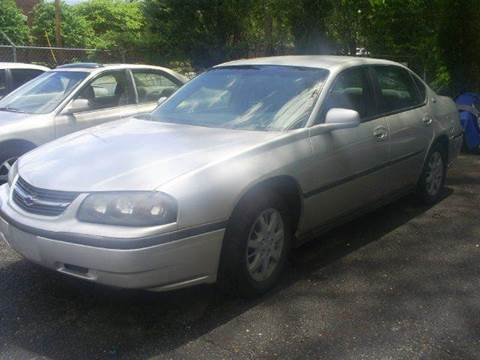 2002 Chevrolet Impala for sale at Easy Auto Sales LLC in Charlotte NC