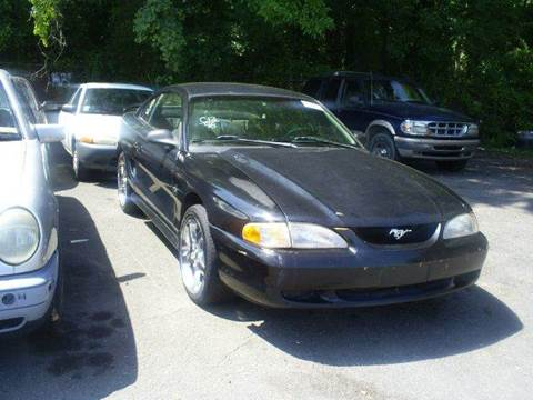 1998 Ford Mustang for sale at Easy Auto Sales LLC in Charlotte NC