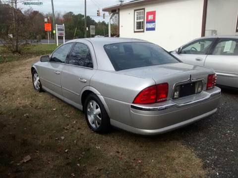 2002 Lincoln LS for sale at Easy Auto Sales LLC in Charlotte NC