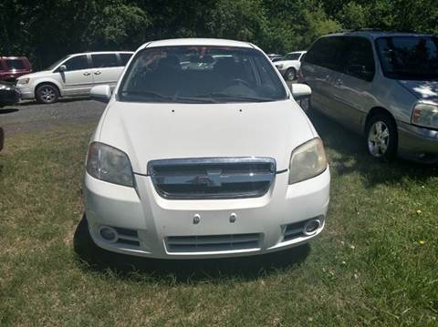 2011 Chevrolet Aveo for sale at Easy Auto Sales LLC in Charlotte NC