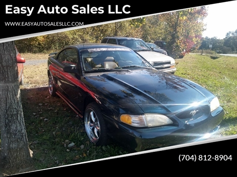 1997 Ford Mustang GT for sale at Easy Auto Sales LLC in Charlotte NC