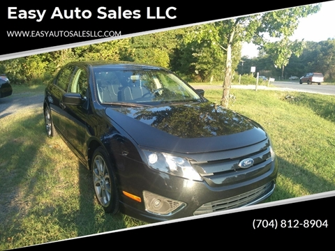 2012 Ford Fusion SEL for sale at Easy Auto Sales LLC in Charlotte NC