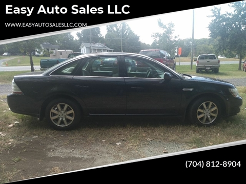 2009 Ford Taurus SEL for sale at Easy Auto Sales LLC in Charlotte NC