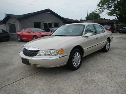 2002 Lincoln Continental for sale in Spring, TX