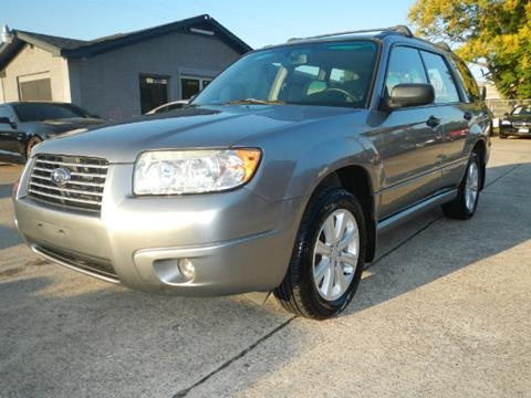 2007 Subaru Forester for sale in Spring, TX