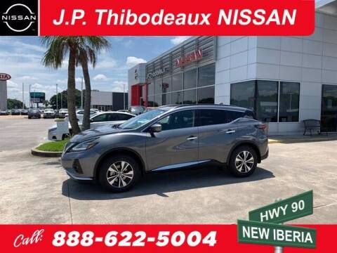 2019 Nissan Murano for sale at J P Thibodeaux Used Cars in New Iberia LA