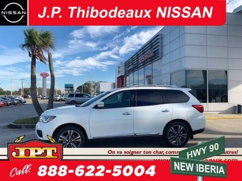 2019 Nissan Pathfinder for sale at J P Thibodeaux Used Cars in New Iberia LA