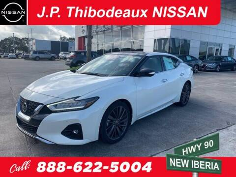 2020 Nissan Maxima for sale at J P Thibodeaux Used Cars in New Iberia LA