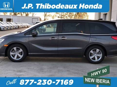2020 Honda Odyssey for sale at J P Thibodeaux Used Cars in New Iberia LA
