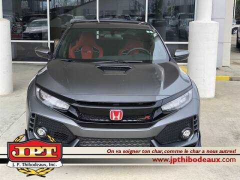 2019 Honda Civic Type R for sale at J P Thibodeaux Used Cars in New Iberia LA