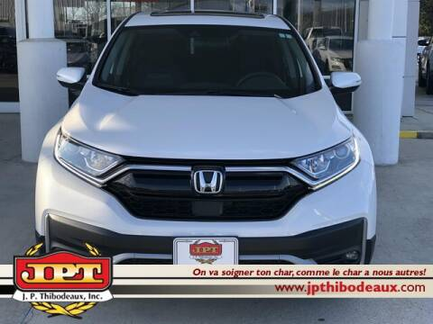 2020 Honda CR-V EX for sale at J P Thibodeaux Used Cars in New Iberia LA