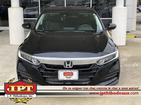 2020 Honda Accord LX for sale at J P Thibodeaux Used Cars in New Iberia LA