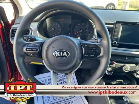 2020 Kia Rio S for sale at J P Thibodeaux Used Cars in New Iberia LA
