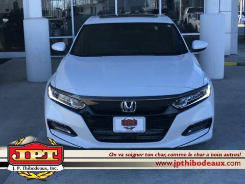 2020 Honda Accord Sport for sale at J P Thibodeaux Used Cars in New Iberia LA