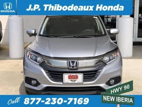 2020 Honda HR-V for sale at J P Thibodeaux Used Cars in New Iberia LA