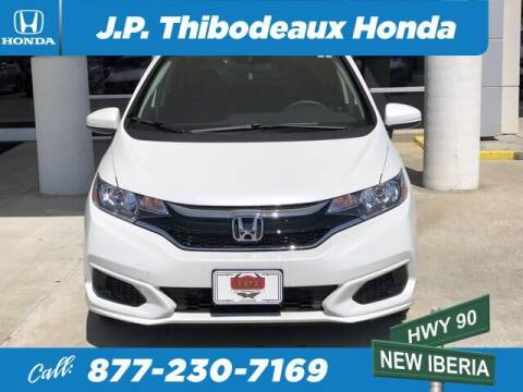2020 Honda Fit for sale at J P Thibodeaux Used Cars in New Iberia LA