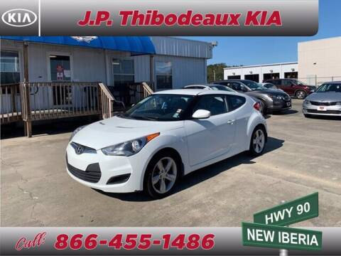 2013 Hyundai Veloster for sale at J P Thibodeaux Used Cars in New Iberia LA