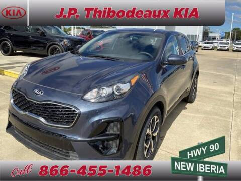 2020 Kia Sportage for sale at J P Thibodeaux Used Cars in New Iberia LA