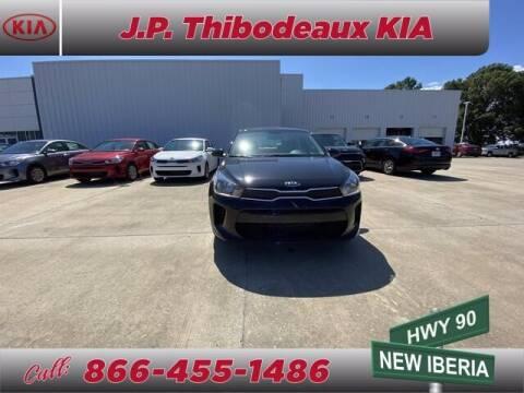 2020 Kia Rio for sale at J P Thibodeaux Used Cars in New Iberia LA