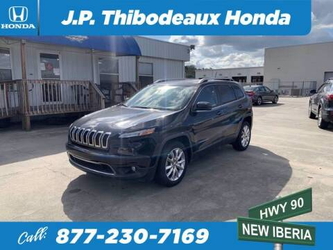 2015 Jeep Cherokee for sale at J P Thibodeaux Used Cars in New Iberia LA