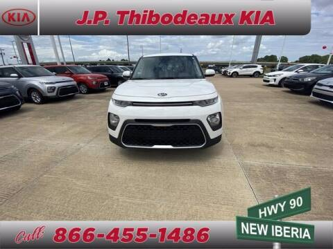 2020 Kia Soul for sale at J P Thibodeaux Used Cars in New Iberia LA