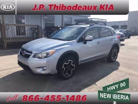 2014 Subaru XV Crosstrek for sale at J P Thibodeaux Used Cars in New Iberia LA