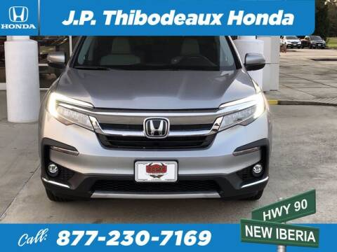 2020 Honda Pilot for sale at J P Thibodeaux Used Cars in New Iberia LA