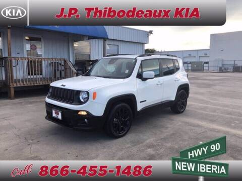 2018 Jeep Renegade for sale at J P Thibodeaux Used Cars in New Iberia LA
