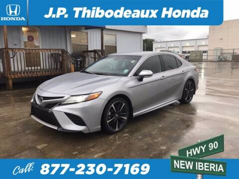 2019 Toyota Camry for sale at J P Thibodeaux Used Cars in New Iberia LA