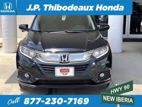 2020 Honda HR-V for sale at J P Thibodeaux Used Cars in New Iberia LA