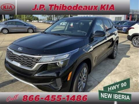 2021 Kia Seltos for sale at J P Thibodeaux Used Cars in New Iberia LA