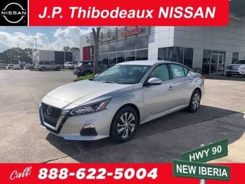 2020 Nissan Altima for sale at J P Thibodeaux Used Cars in New Iberia LA
