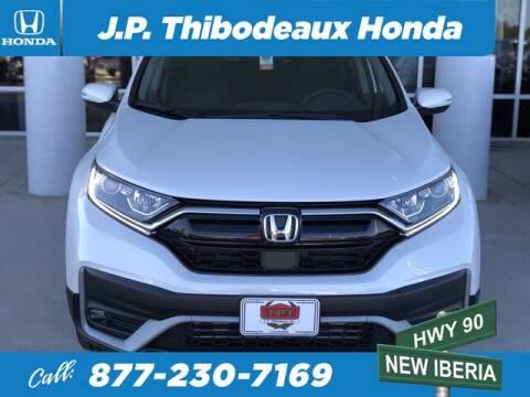 2020 Honda CR-V for sale at J P Thibodeaux Used Cars in New Iberia LA