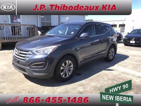 2016 Hyundai Santa Fe Sport for sale at J P Thibodeaux Used Cars in New Iberia LA