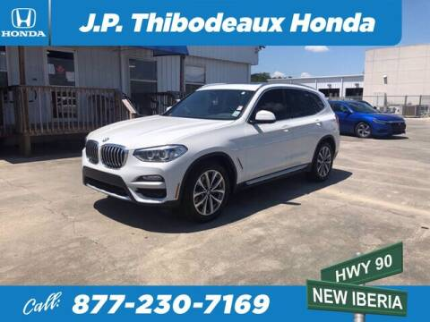 2019 BMW X3 for sale at J P Thibodeaux Used Cars in New Iberia LA
