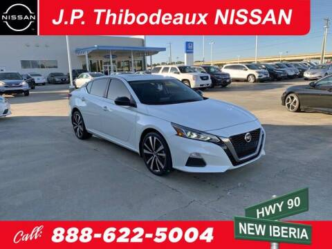 2019 Nissan Altima for sale at J P Thibodeaux Used Cars in New Iberia LA
