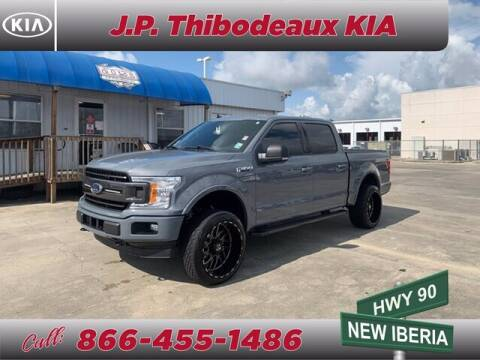 2019 Ford F-150 for sale at J P Thibodeaux Used Cars in New Iberia LA