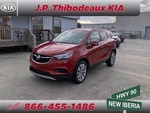2018 Buick Encore for sale at J P Thibodeaux Used Cars in New Iberia LA