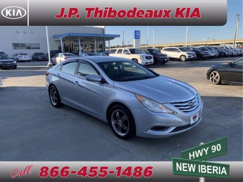 2012 Hyundai Sonata for sale at J P Thibodeaux Used Cars in New Iberia LA